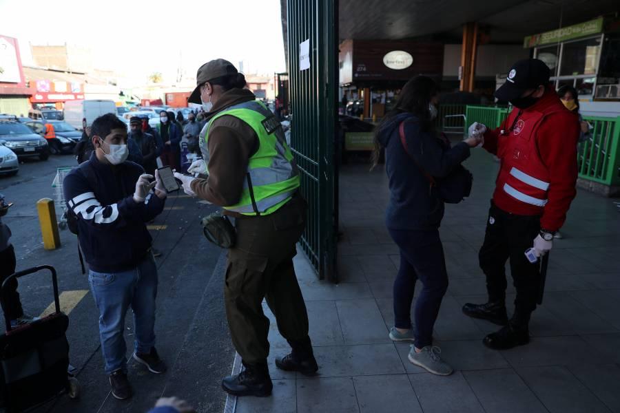 Chile reporta más de 3 mil 500 nuevos casos de Covid-19