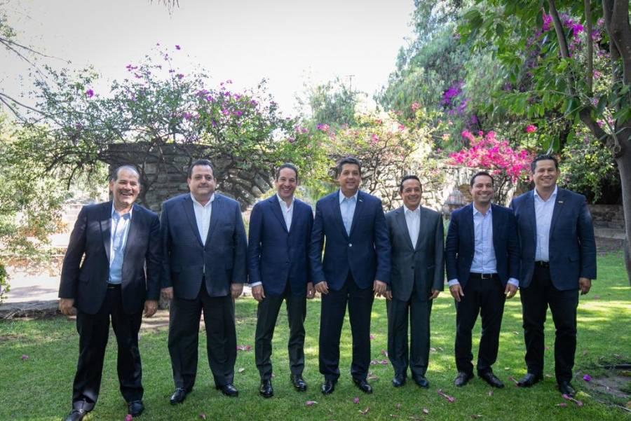 Gobernadores panistas rechazan propuesta para que INEGI revise el patrimonio