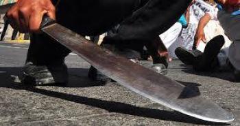 Aprehenden a sujeto que atacó con un machete a seis personas en SLP