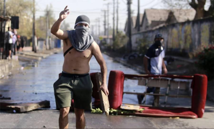 """""""Tenemos hambre"""": la protesta  en Chile por la crisis económica"""