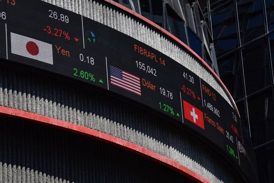 Bolsa Mexicana gana tras peor jornada en siete semanas