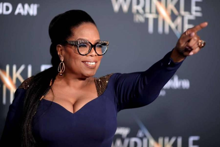 Oprah donará 12 mdd por el COVID-19