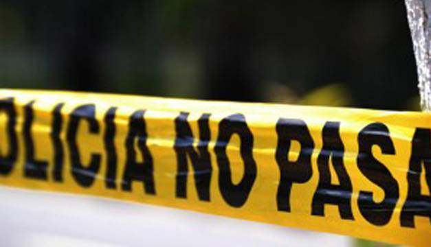 Un choque en el centro de la capital muere transeúnte que se encontraba cerca