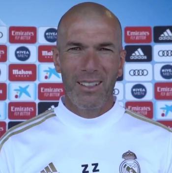 Ganar es parte del ADN del Real Madrid: Zidane
