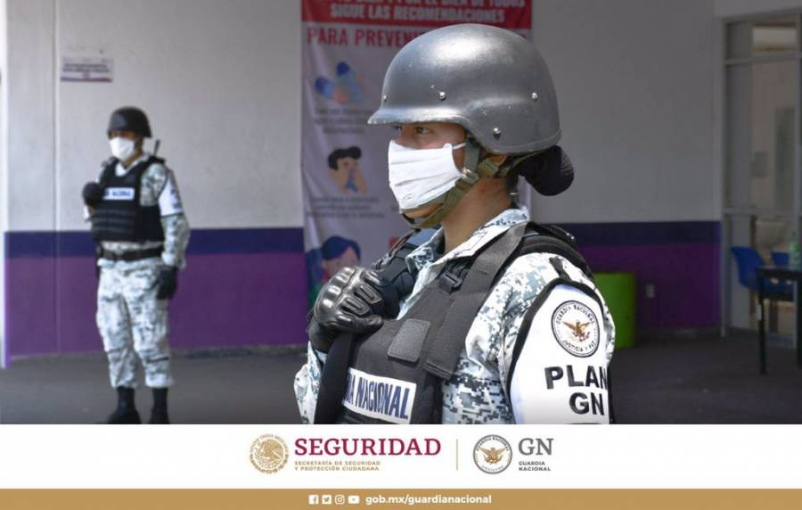 En Jalisco 24 elementos de la guardia Nacional dan positivo a Covid-19