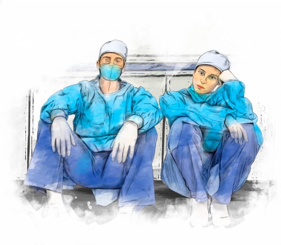 Rituales sanitarios deun matrimonio médico