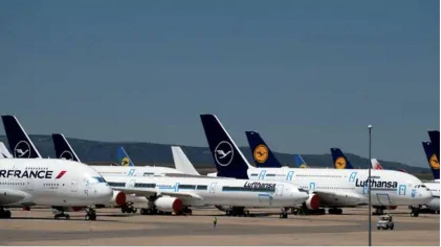 Convierten aeropuerto en  estacionamiento y taller  en medio de la pandemia