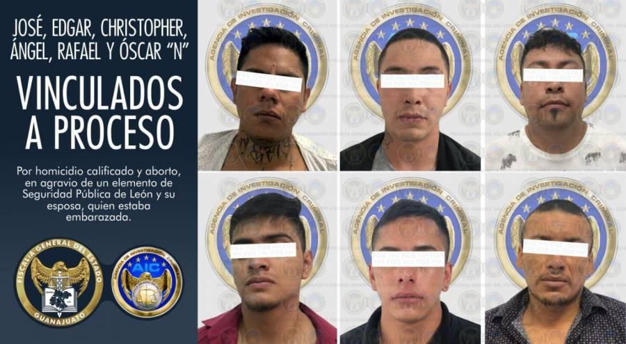 Detienen a los 6 responsables de ataque contra policía y esposa embarazada en Guanajuato