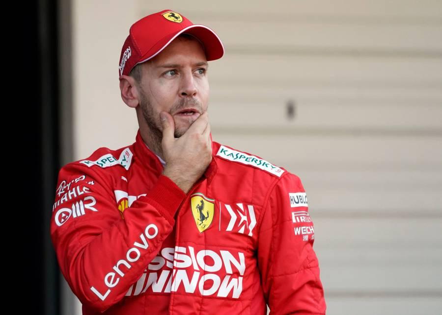 Sebastian Vettel camina rumbo al retiro prematuro