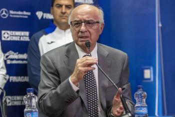 Covid en equipo de Liga MX es falso: Alfredo Álvarez de Cruz Azul