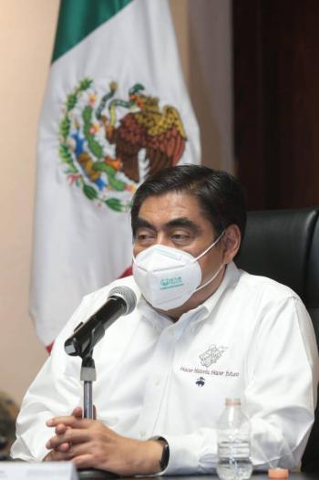 Anuncia Barbosa 'Semáforo covid-19' para Puebla