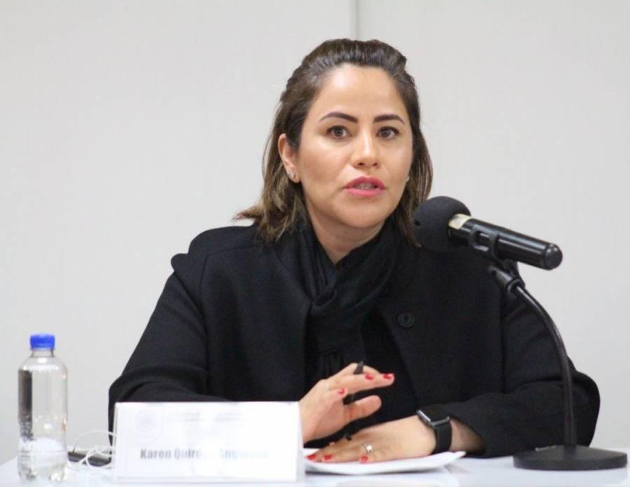 Misógino que Gobierno quiera quitar recursos para atención de violencia de género: Karen Quiroga
