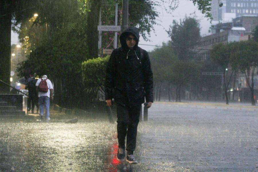 Gran parte de la República Mexicana tendrá lluvias fuertes