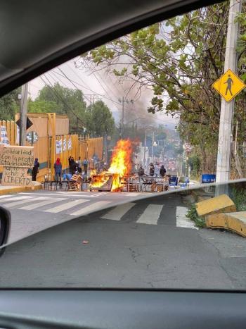 La UNAM condena los ataques del CCH Sur