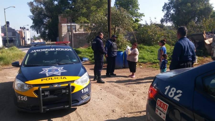SP de Soledad entrega despensas a familias de escasos recursos