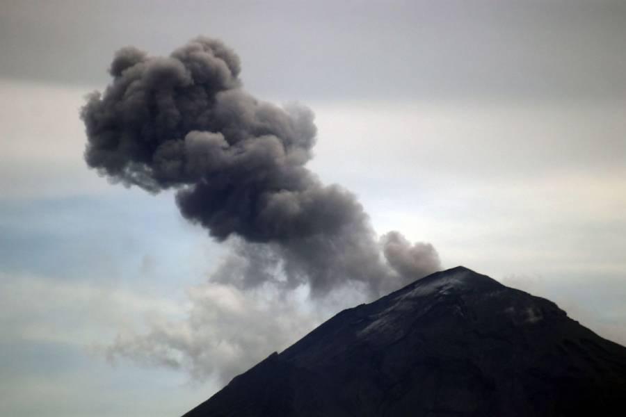 Popocatépetl cierra fin de semana con 168 exhalaciones