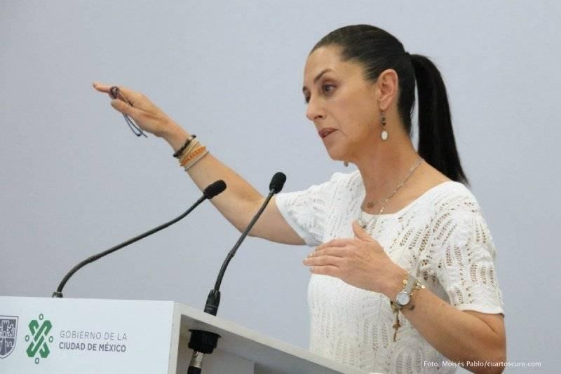 Reducirá Gobierno de la CDMX gastos corrientes al 50%