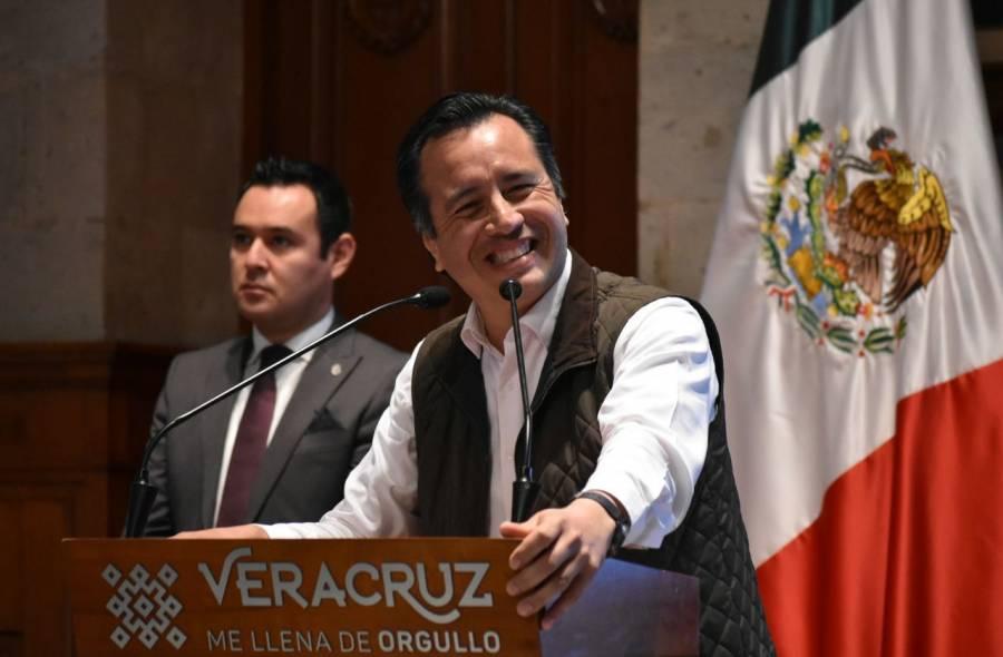 AMLO da espaldarazo a Gobernador de Veracruz