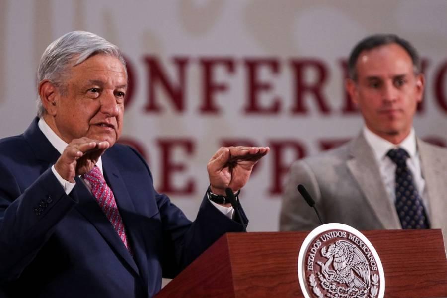 """Críticas a López-Gatell con afán político-electoral"": AMLO"