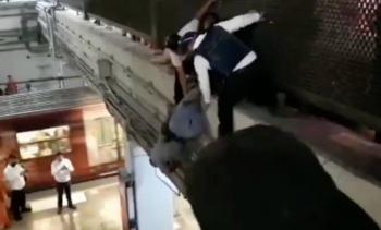 Intento de suicidio en el metro Cuatro Caminos