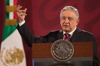 """AMLO dispuesto a revisar pacto fiscal; pide """"aprestarse el cinturón"""