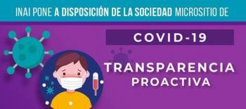 Aumenta 40% solicitudes de información por COVID-19