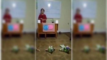 Niño guanajuatense imita a López-Gatell en conferencia de Salud