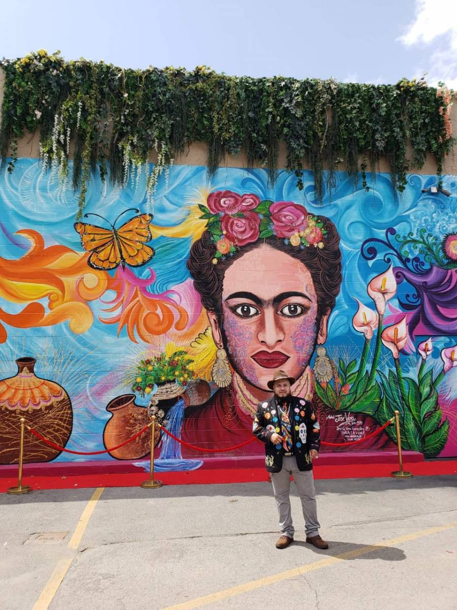 En Nashville, muralista mexicano sobreviveal Covid-19