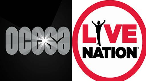 Notifica Live Nation a CIE que cancela la compra de acciones de OCESA