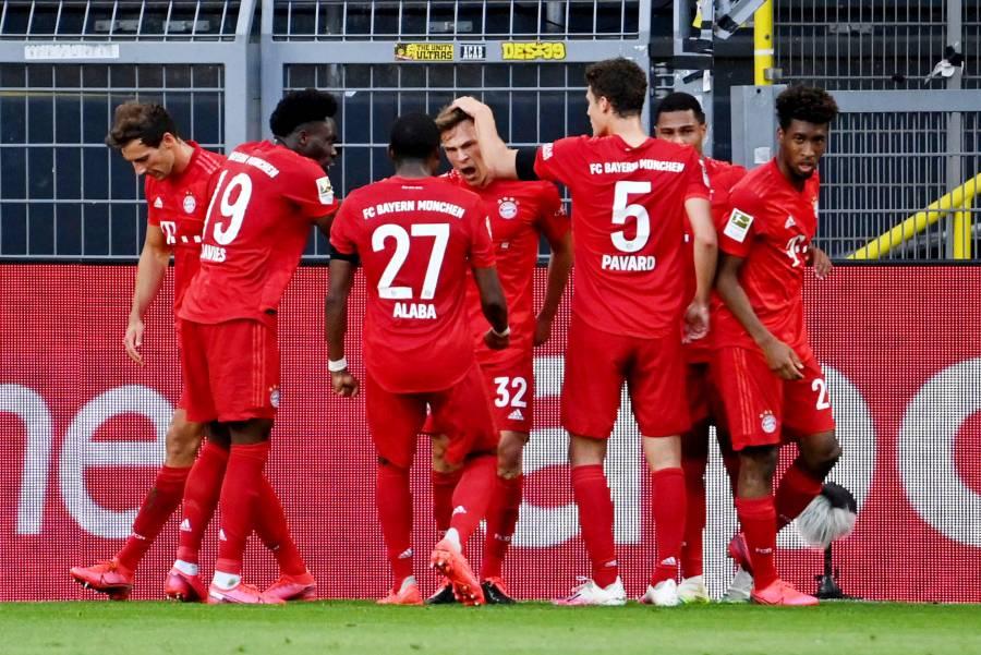 Bayern gana al Dortmund y se aproxima al título de liga