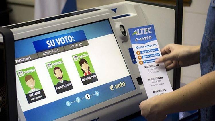 Voto electrónico podría ser una alternativa: magistrado