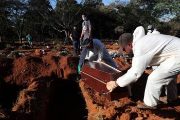 Brasil vuelve a registrar más de mil muertes por Covid-19 en un día