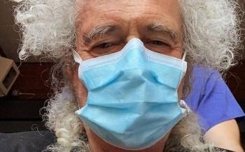 Brian May, fuera de peligro