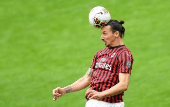 Ibrahimovic será baja por 10 días tras sufrir lesión muscular