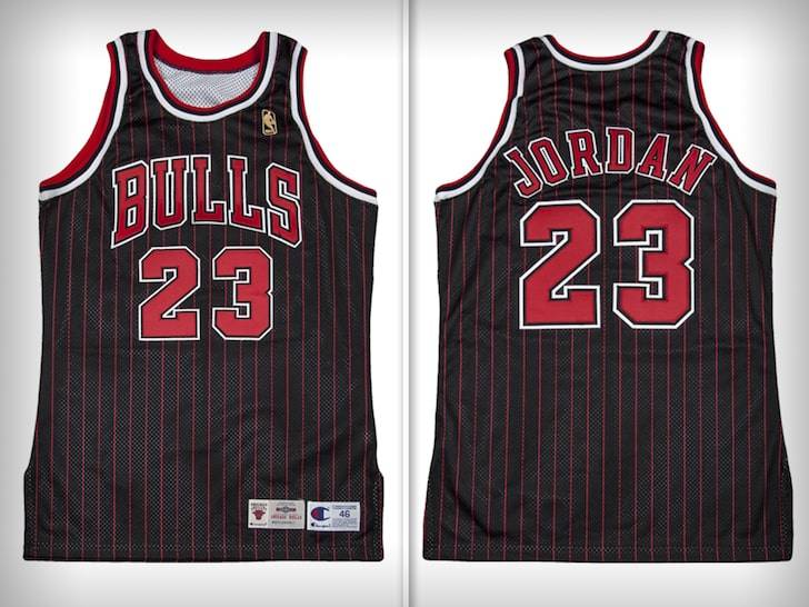 Pagan 6 millones de pesos por uniforme de Michael Jordan
