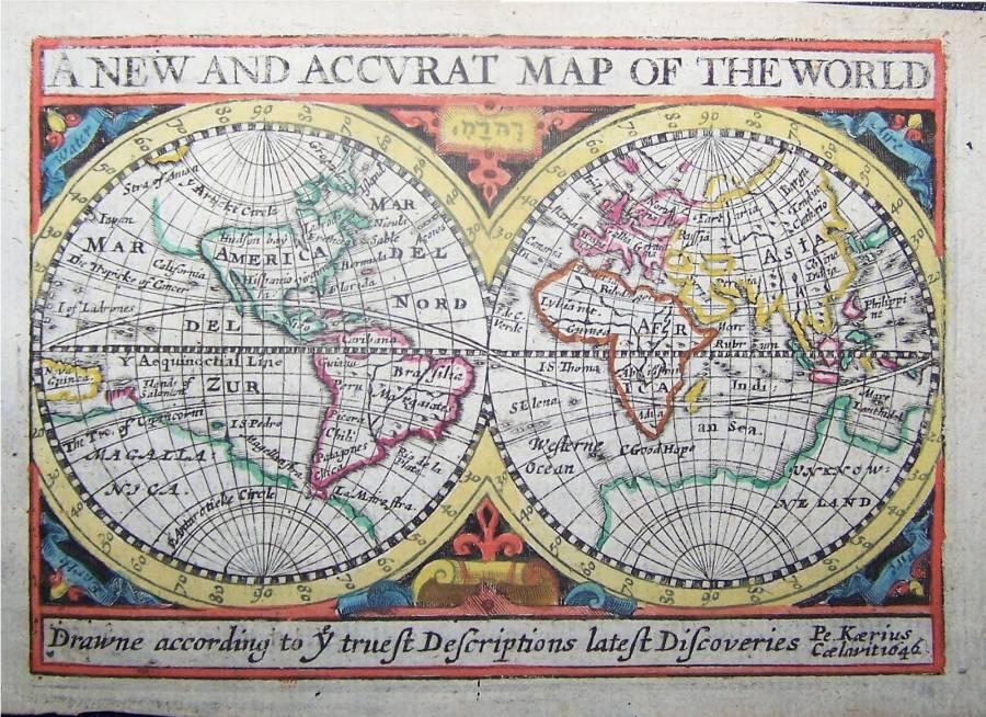 Retrato del Mundo en el siglo XVII