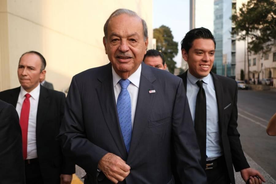 Carlos Slim, entre los deudores que se ponen al corriente con el SAT
