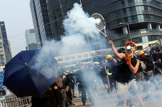 Tras meses de pausa, se reanudan protestas en Hong Kong