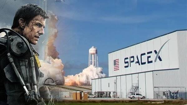 Tom Cruise grabará en la NASA