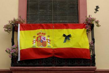 España declara 10 días de luto por víctimas de Covid-19