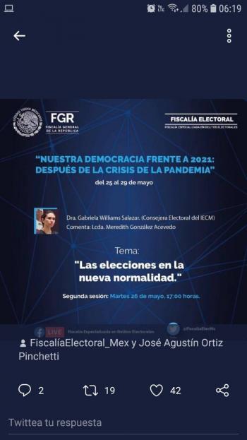 Covid-19 representará retos para las elecciones del 2021: IECM