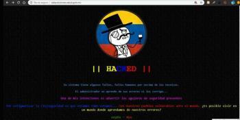 Hackean página de la Secretaría de Salud