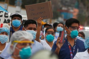 Perú reporta más de 6 mil casos de Covid-19 en un día