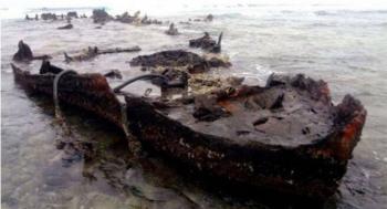 Hallan en Quintana Roo restos de naufragio