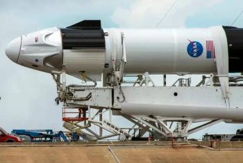 """En vivo: Lanzamiento del """"Crew Dragon"""", histórica misión de SpaceX y NASA"""