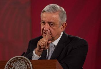 Sí hay equipo médico suficiente, asegura López Obrador