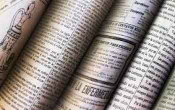 Periódico La Patria, informando en 1912
