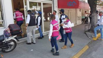 Edomex cierra negocios que violan cuarentena