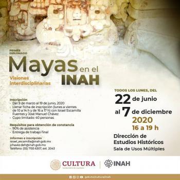 Diplomado del INAH sobre cultura maya