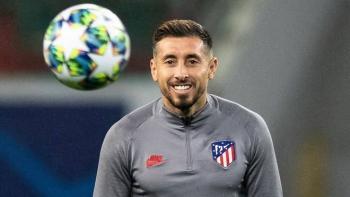 Héctor Herrera asegura que su futuro es con Atlético de Madrid